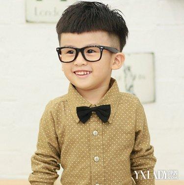 2岁小男孩发型图案 潮酷发型造型图片