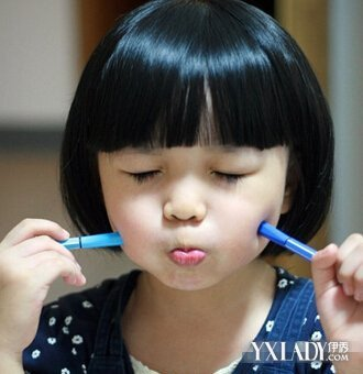 女宝宝发型图片 可爱萌娃迷倒众生