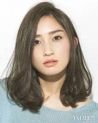 头发多圆脸适合发型 五款发型拯救大圆脸图片