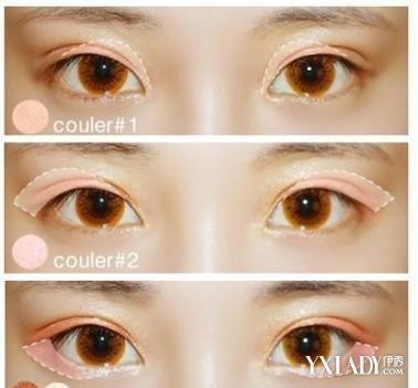 初学者画眼影步骤固)�_【图】眼影的画法步骤图 初学者化妆入门级眼妆