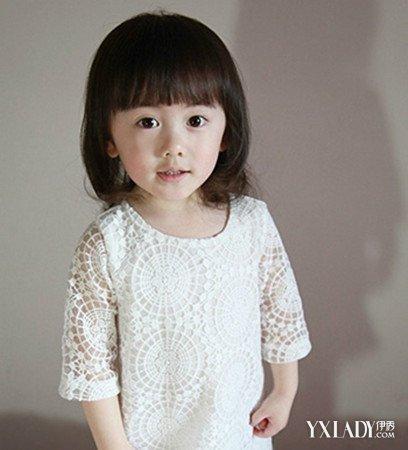 四五岁小女孩短发型