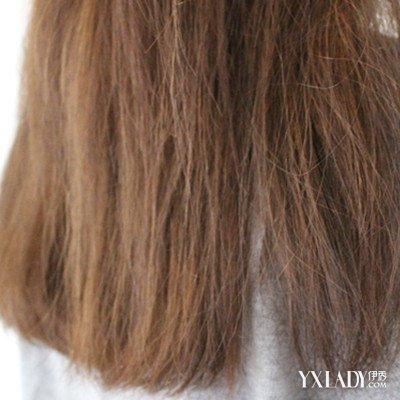 卷发拉直后头发毛燥怎么办 受损头发的三种护理技巧图片