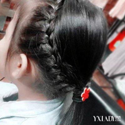 2015儿童女孩扎辫子发型 女童必学清凉发型