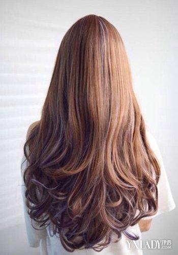长发齐发尾图片 长发及腰的秘诀