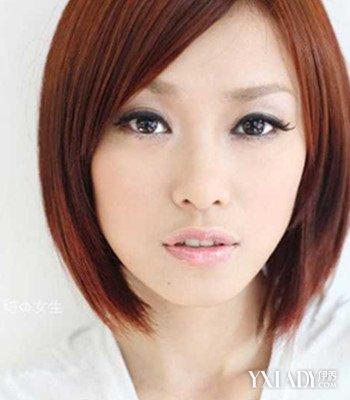 国字脸女生短发发型图片 4款不同风格发型推荐图片