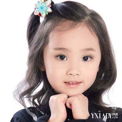 流行发型 小女孩可爱发型短发图片展示打造不一图片