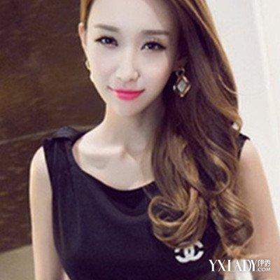 盘点红板栗色的头发图片 4种女生爱的板栗色头发发型