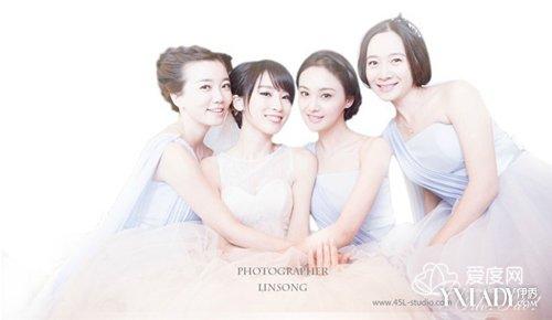 谢楠和吴京裸婚纱照