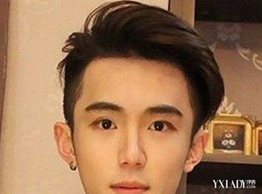 大圆脸适合的发型图片男 利用发型遮住大圆脸图片