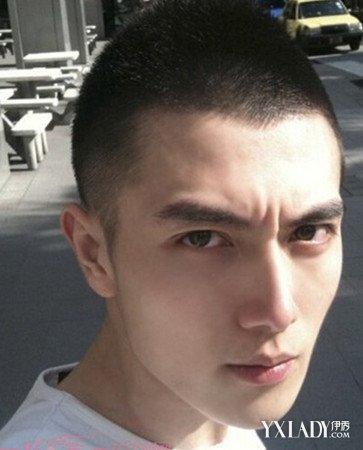 男生毛寸短碎发发型图片图片