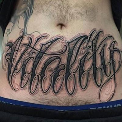 腹部纹身男生图案展示 纹身时8个注意事项介绍