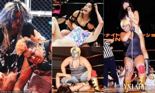 【图】揭秘日本女子摔角现场