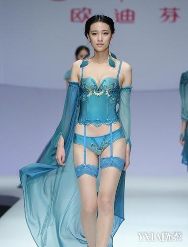 【组图】2014中国内衣设计大赛落幕 内衣模特丰胸秘籍