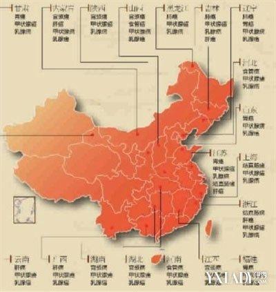 【组图】新版中国癌症地图发布全国高发乳腺癌 预防乳腺癌的方法