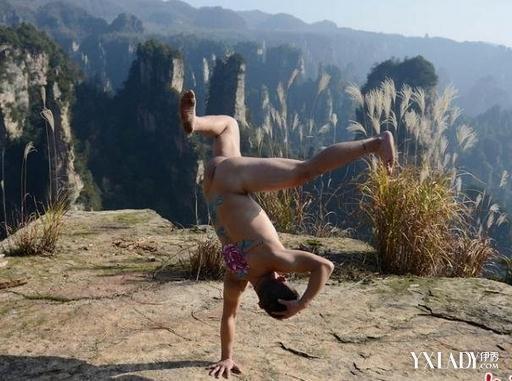 欧美顶级人体艺术囹�a�f�_【图】张家界男子悬崖全裸秀粗壮大腿 男人锻炼肌肉的