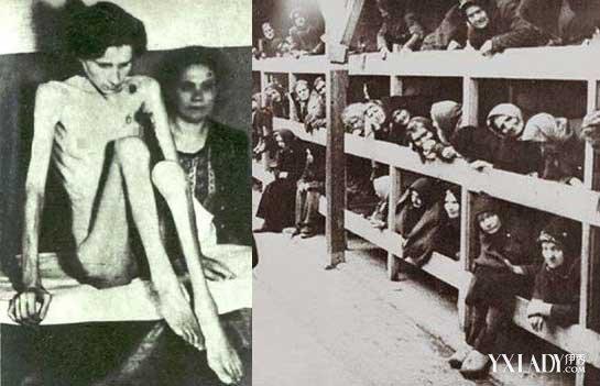 纳粹集中营里的少女