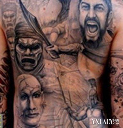 【图】欧美背部纹身男图片曝光