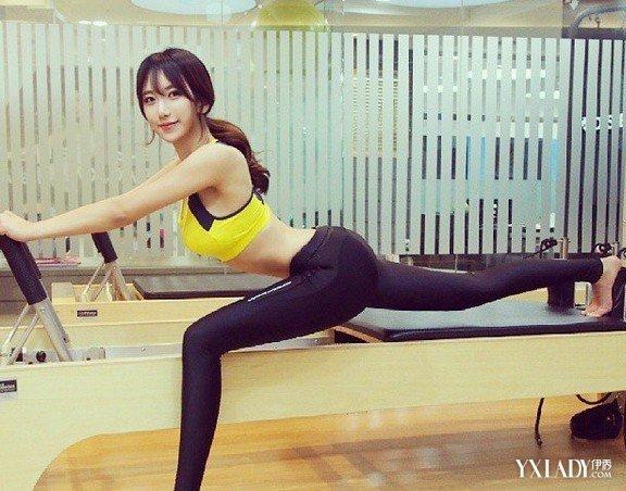 【图】韩国瑜伽教练美女