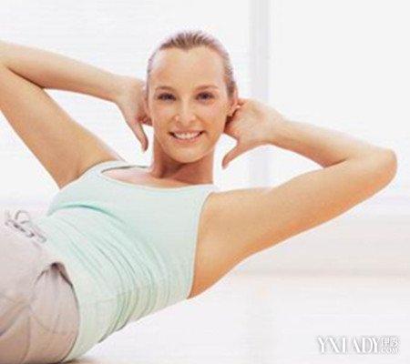 【图】晚上做仰卧起坐减肥5大方法教你轻图肥灸艾眼脐减肚图片