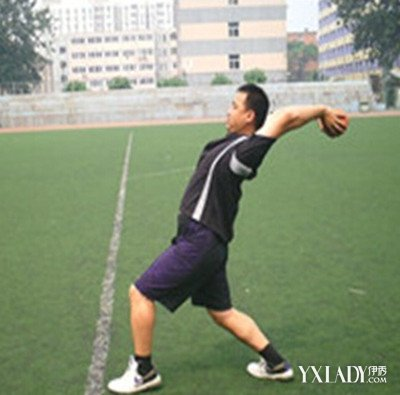 正文  实心球动作要领图解 实心球是中招体育考试项目之一,投掷实心