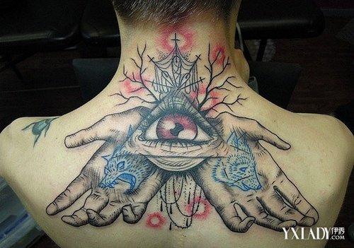 【图】展示欧美上帝之眼纹身图片 介绍纹身前后注意事项