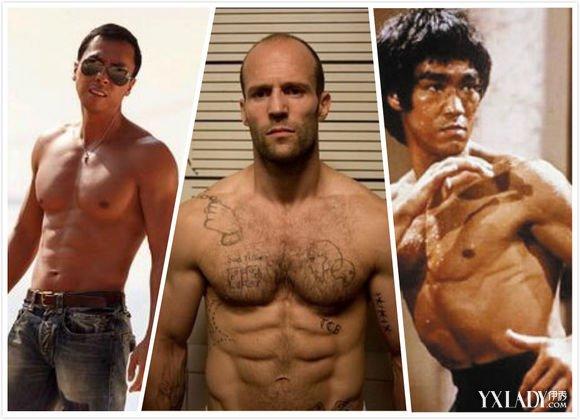 欧美八块腹肌男展现图 每个男人都值得拥有