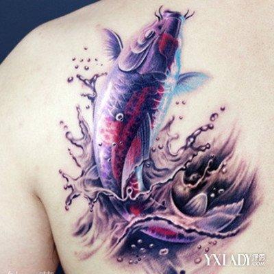 【图】鲤鱼纹身图案大全图片欣赏 刺青已成为潮流