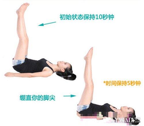 躺床上腿倒立能减肥吗 这样的动作坚持多久才有效果