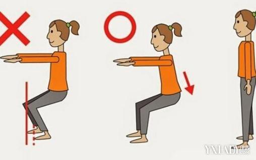 【图】每天做多少个深蹲可以瘦大腿 教你5个细