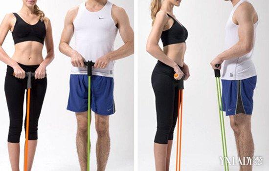【图】脚踏拉力器锻炼方法图解