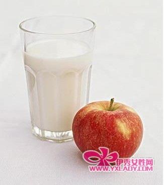 苹果牛奶减肥法效果_