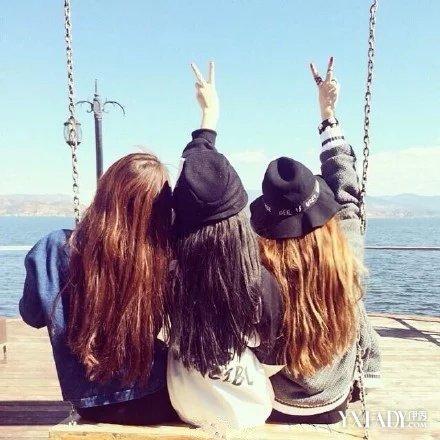 【图】闺蜜背影头像 快和你的闺蜜换上秀友情吧