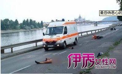车祸恐怖恶心死人尸体 慎观!