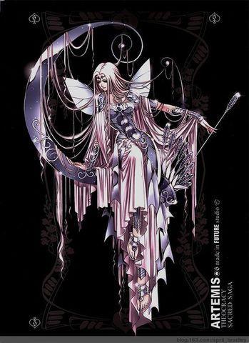 月亮女神:阿尔忒弥斯 (希腊