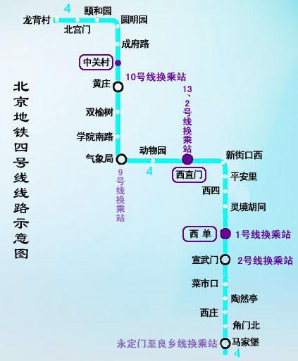 北京地铁线路图 最新_北京地铁