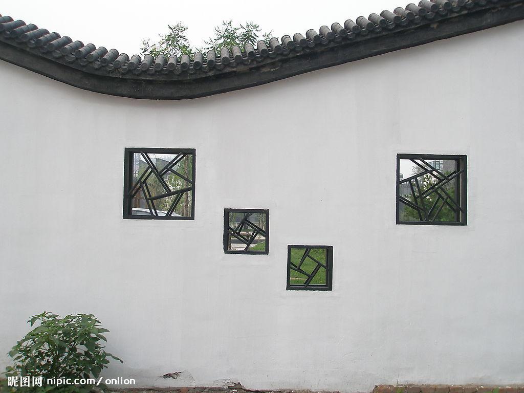 农村别墅围墙效果图_农村小别墅围墙大门