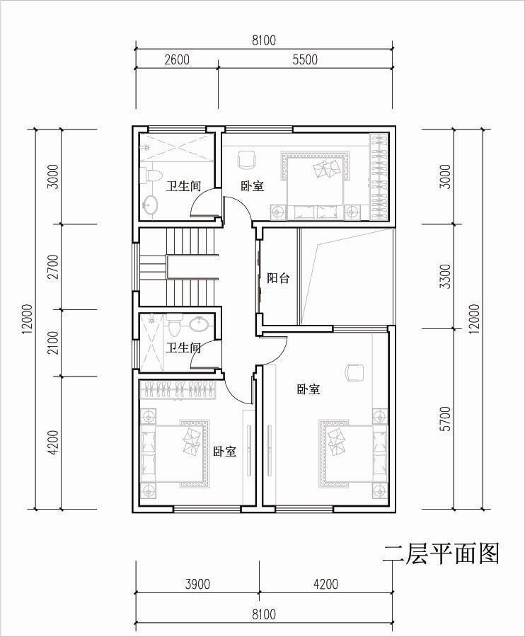 房屋结构设计图