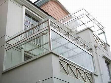 阳台栏杆高度_阳台不锈钢栏杆.