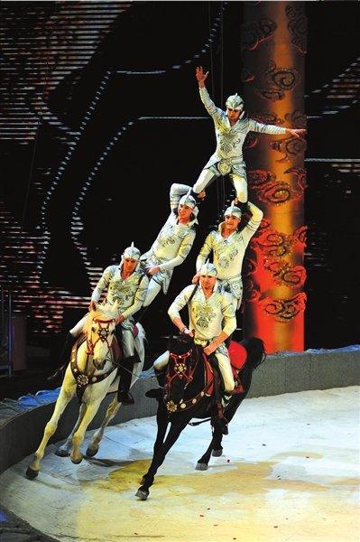 马戏团表演_马戏团猴子表演