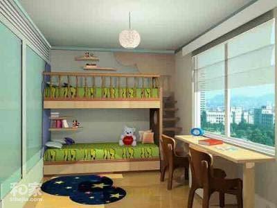 赏10款纯真儿童房装修效果图