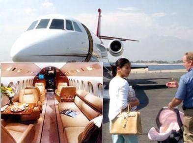 刘涛私人飞机 刘涛的飞机价值3亿