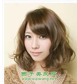 齐肩短发发型图片