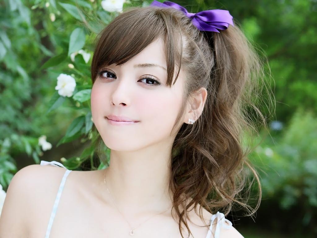 被评美国人最喜爱的日本第一美少女