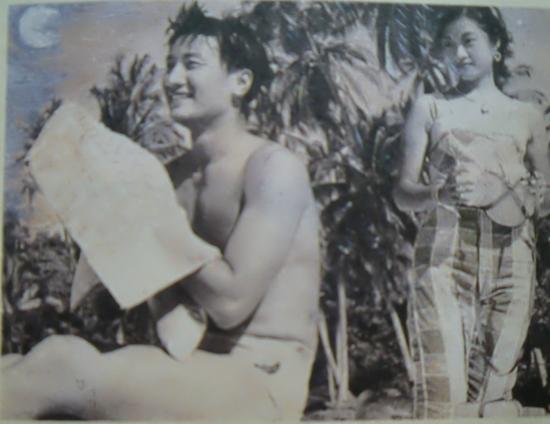 老相片-四哥 谢贤年轻照片,帅气逼人图片