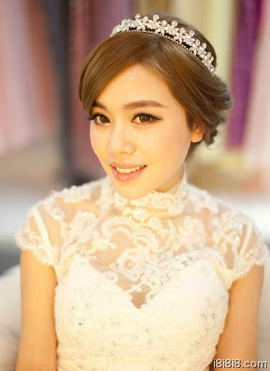 中式新娘发型图片
