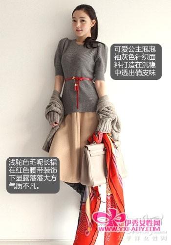 韩系美裙帮大忙 粗腿粗腰也能巧遮挡