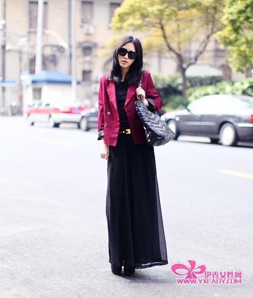 中国街拍 时尚也可以平易近人