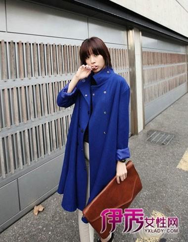 冬季韩版大衣搭配