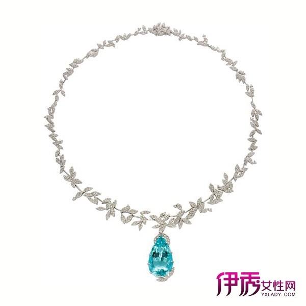 H.STERN帕拉依巴碧玺自然风格项链,零售价566,000英镑