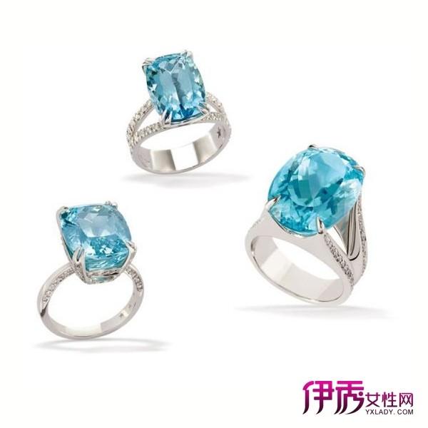 H.STERN帕拉伊巴碧玺戒指,零售价116,000~307,000英镑